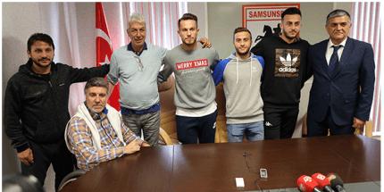 Samsunspor 5 Oyuncusu İle Sözleşme Yeniledi
