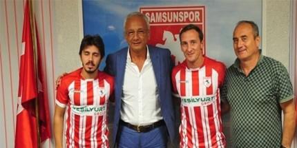 Samsunspor'da 2 Yeni Transfer