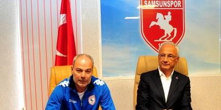 Samsunspor, Engin İpekoğlu İle Sözleşme İmzaladı