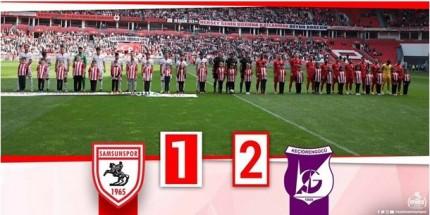Samsunspor Haftayı Puansız Kapattı