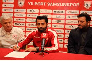 Samsunspor, Ahmet Altın İle Sözleşme Yeniledi
