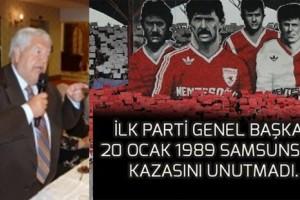 Süleyman Yağcıoğlu'ndan Samsunspor'a Taziye Mesajı