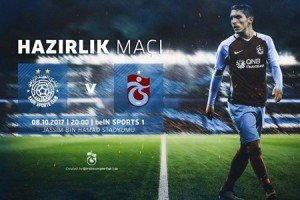 Trabzonspor Al Sadd İle Hazırlık Maçı Yapacak