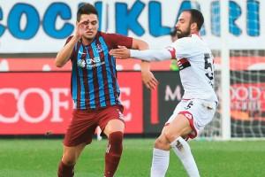 Trabzonspor Gençlerbirliği'nden 3 puanı 3 Golle Aldı