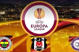 UEFA Avrupa Ligi'nde Temsilcilerimiz Maçlarını Oynadı