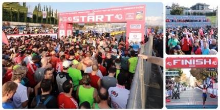 Vodafone İstanbul Maratonu'nda Yüz Binler Koştu