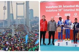 Vodafone 39. İstanbul Maratonu Yüzbinlerin Katılımıyla Gerçekleşti