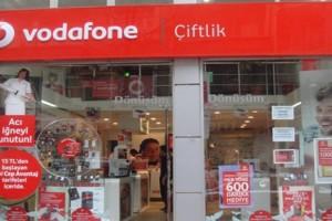 Samsun'da Vodafone'a Tepki Yağıyor