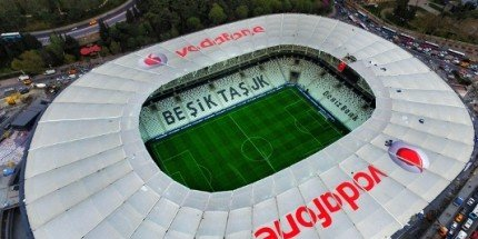 UEFA Süper Kupa Beşiktaş Vodafone Park'ta