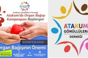 Atakum Gönüllüleri Derneği Organ Bağışı Kampanyası Başlatıyor