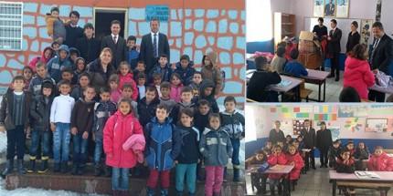 Ak Parti Atakum İlçe Başkanlığı'ndan Köy Okullarına Sıcak Dokunuş