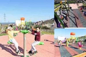 Yeni Bir Park Daha Çocuklarla Buluştu