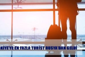 Geçen Yıl En Çok Turist Rusya'dan Geldi