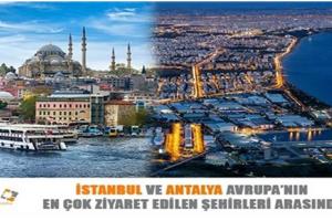 En Çok Ziyaret Edilen Şehirler
