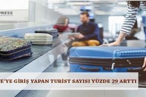 Turist Sayısı Yüzde 29 Arttı