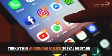 Sosyal Medya Kullanımında Üst Sıralardayız