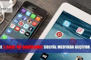 Sosyal Medya Kullanımında Avrupa'nın Birincisiyiz