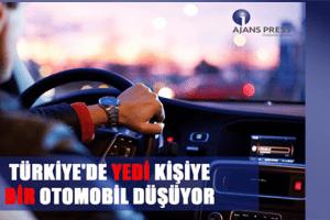 Türkiye'de En Çok Otomobil İstanbul'da