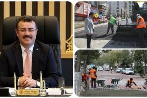 Atakum'da 5 Yılda 871 km'lik Yol Çalışması