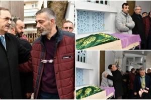 Başkan Zihni Şahin Basın Danışmanı Adnan Hazır'ın Acısını Paylaştı