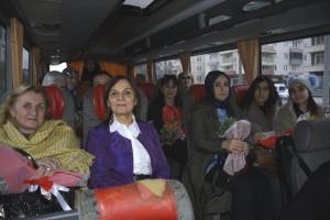 Şükriye Şahin, İl Kadın Hakları Koordinasyonu Kurulu Üyelerini Ağırladı