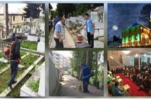 Mezarlıklar Müdürlüğü Her Yere Ulaşıyor