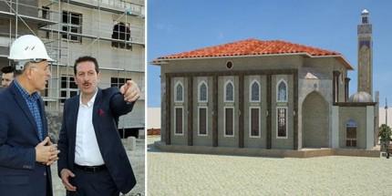 Ulugazi Toki Camii İnşaatı Başlıyor