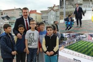 İlkadım'da 4 Yılda 62 Çocuk Parkı 12 Halı Saha