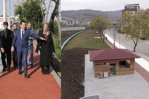 Koşu Yolu ve Hayat Parkuru Projesi Tamamlanıyor
