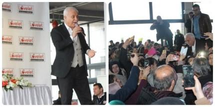 Prof. Dr. Nihat Hatipoğlu Lovelet'te Samsunlularla Buluştu