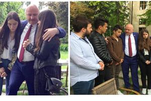 Metin Gündoğdu, Şehit Çocuklarıyla TBMM'de Buluştu