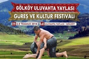 Uluvahta Yaylası Güreş ve Kültür Festivali Başlıyor