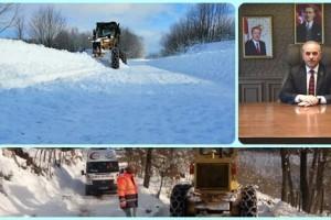 Büyükşehir Karla Mücadeleye Aralıksız Devam Ediyor