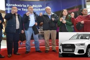 150 TL'lik Alışveriş Audi Q3 Kazandırdı