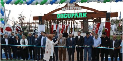 Doğu Park Projesi Hizmete Açıldı