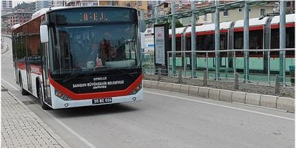 Samsun'da Toplu Ulaşıma Zam Yapıldı