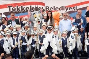 Tekkeköy'de Coşkulu Sünnet Şöleni