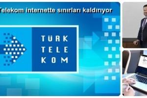 Türk Telekom, Türkiye'yi Limitsiz İnternetle Buluşturuyor