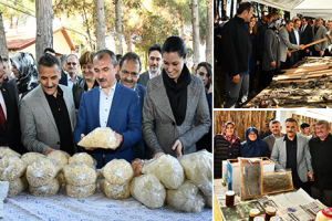 Köy Ürünleri Pazarı Alaçamdan 'ın Açılışı Gerçekleştirildi