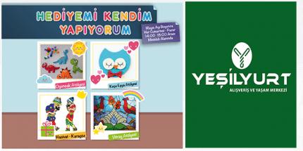 Yeşilyurt Alışveriş'nin Miniclub Etkinlikleri Mayıs Ayında da Dopdolu