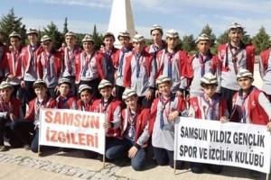 Samsun Yıldız Gençlik İzcilerinden Çanakkale Kampı